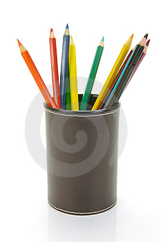 Colour Pencils Royalty Free Stock Photo - Image: 9619425