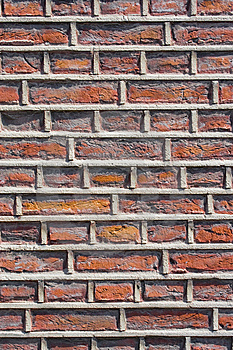 Rough Brick Wall Facade Royalty Free Stock Images - Image: 9619469
