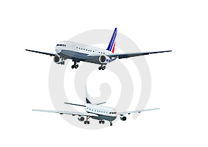Airliner-material Stock Images - Image: 9622634