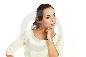 Thoughtful Girl Stock Photos - Image: 9632373