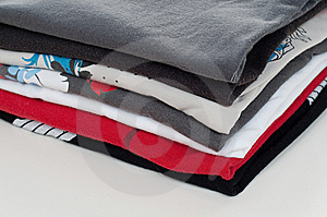 Pile Of Clothes Royalty Free Stock Images - Image: 9637889