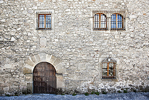 Medieval Facade Royalty Free Stock Photography - Image: 9639767