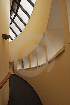 Ramp To The Second Floor Royalty Free Stock Image - Image: 9642126