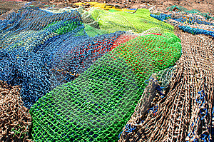 Nets Stock Image - Image: 9642441