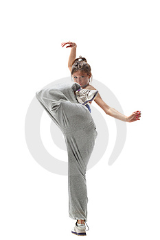 The Dancer Royalty Free Stock Photo - Image: 9643125
