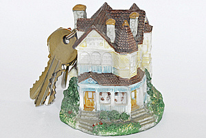 House With Keys On The Top Stock Images - Image: 9645394