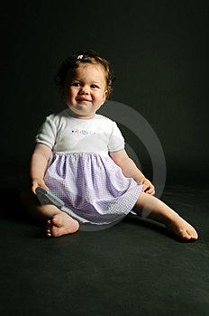 Baby Girl Stock Image - Image: 9645411