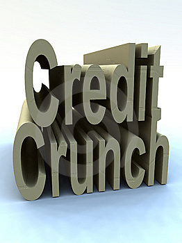 The Credit Crunch Stock Images - Image: 9646224