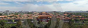 Imperial Palace(Forbidden City) Stock Images - Image: 9648804