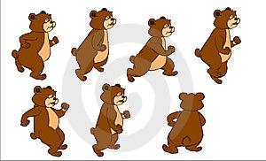 The Bear- Illustrator -material Stock Photos - Image: 9652733