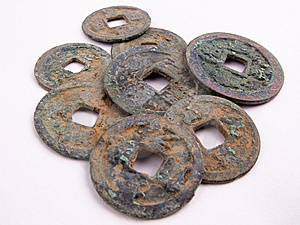 Old Coins Royalty Free Stock Photography - Image: 9658827