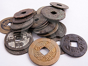 Old Coins Royalty Free Stock Image - Image: 9658856