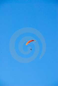 Parasailer Blue Sky Stock Photos - Image: 9661083