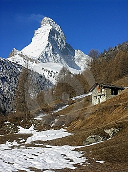 Matterhorn Stock Photo - Image: 9662530