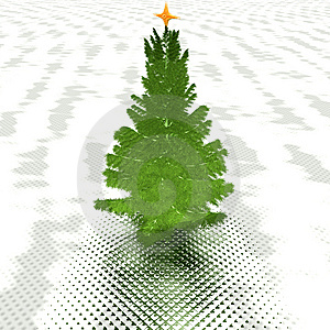 Christmas Tree Ready To Decorate Stock Photography - Image: 9665142