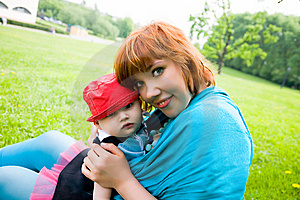 Hübsche Mutter Mit Kleinem Sohn Lizenzfreie Stockfotos - Bild: 9665798