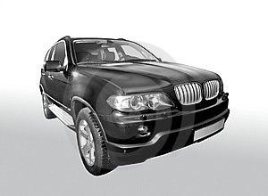 Black Car Stock Photography - Image: 9667222