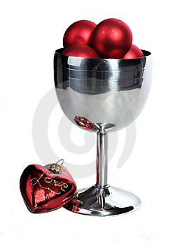 Silver Wine Goblet Royalty Free Stock Images - Image: 9667899
