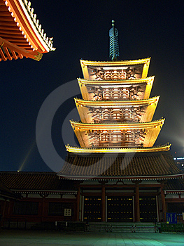 Five Storied Pagoda Stock Image - Image: 9668071