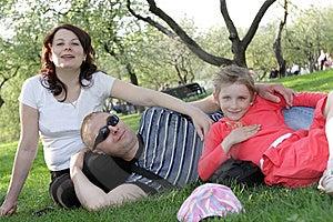Happy Family Stock Image - Image: 9668971