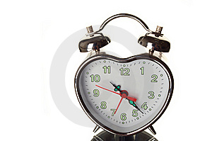Shiny Clock Stock Photography - Image: 9669482