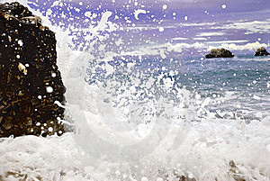 Blue Sea  Wave Royalty Free Stock Image - Image: 9670376