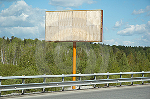 Billboard Royalty Free Stock Photo - Image: 9671825