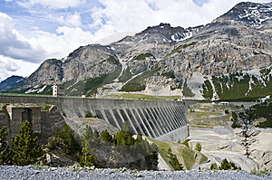 Dam Stock Images - Image: 9673384