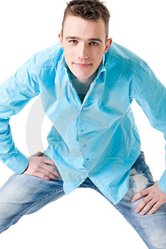 Sturdy Guy Royalty Free Stock Photography - Image: 9676257