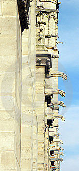 Notre Dame De Paris, Detail Stock Photography - Image: 9677642