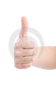 Hand Demonstrating Gesture Stock Photo - Image: 9678200