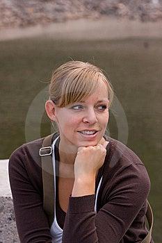A Woman Posing Stock Photo - Image: 9678290