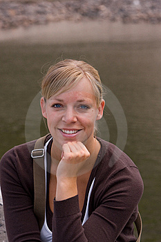 A Woman Posing Royalty Free Stock Image - Image: 9678296