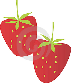 Red Big Strawberry Royalty Free Stock Photos - Image: 9679828