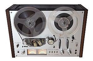 Vintage Analog Recorder Stock Photos - Image: 9680093