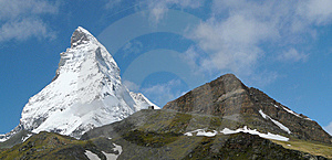 Matterhorn Zermatt Summer Switzerland Royalty Free Stock Image - Image: 9681706
