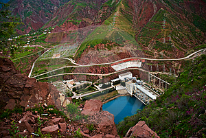 Hydroelectric Station Stock Photos - Image: 9681953