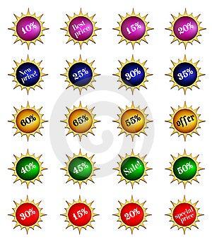 Badge Royalty Free Stock Image - Image: 9682776