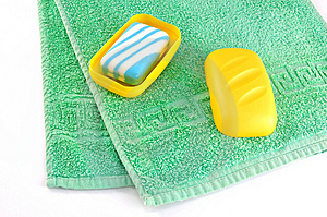 Towel And Soap Stock Images - Image: 9686154
