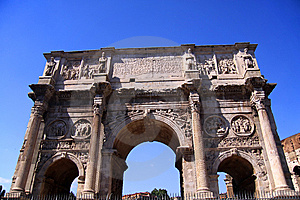 Arch Of Constantine Stock Photography - Image: 9687252