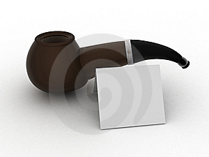 Pipe For Dad. Royalty Free Stock Photos - Image: 9695308