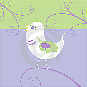 Bird, Vector Royalty Free Stock Photo - Image: 9698005