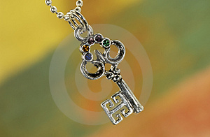 Key Charm Royalty Free Stock Images