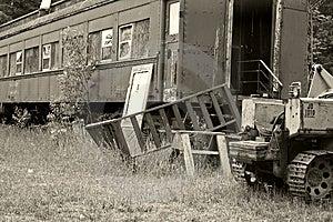 Scrap Yard Royalty Free Stock Photography - Image: 972767