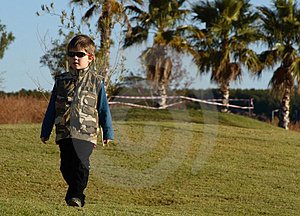 Boy With Sunglasses Stock Image - Image: 976601
