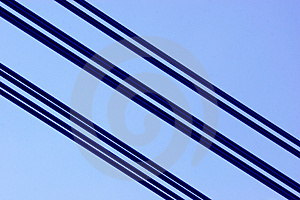 Bridge , Cable Royalty Free Stock Image - Image: 978706