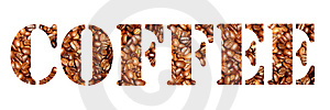 Coffee Letters Royalty Free Stock Photos - Image: 978818