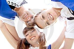 Three Funny Graduates Stock Images - Image: 9703464