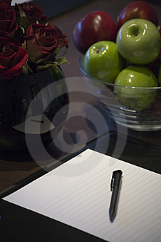 Corporate Display Book Stock Images - Image: 9703714