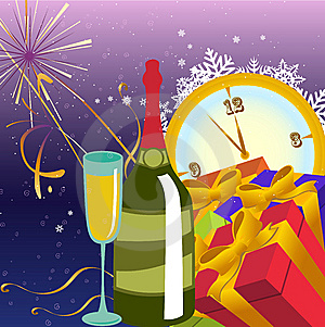 New Year Background Royalty Free Stock Photo - Image: 9704965